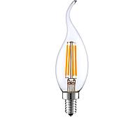 Светодиодная лампа свеча на ветру  Filament 4Вт Е14  2700K, фото 1