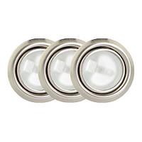 Точечный светильник // Lumine / галогеновый / круглый / сатин / P= 20W / белый дневной