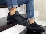 Кроссовки мужские Adidas Stan Smith,черные, фото 3