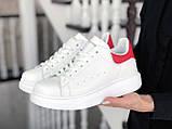 Кроссовки женские,подростковые Adidas Stan Smith,белые, фото 3
