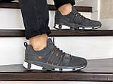 Кроссовки Adidas,замшевые,серые, фото 2