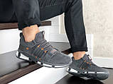 Кроссовки Adidas,замшевые,серые, фото 4
