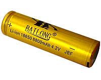 Аккумулятор 18650 Bailong Gold 8800 mAh, фото 1