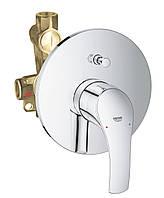 Встраиваемый смеситель для ванны НЧ+СЧ Grohe Eurosmart 33305002