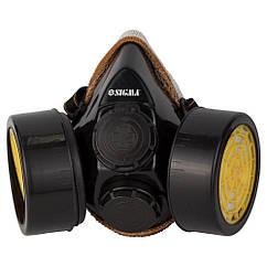 Респіратор з вугільним фільтром (2 фільтра) SIGMA (9422211)