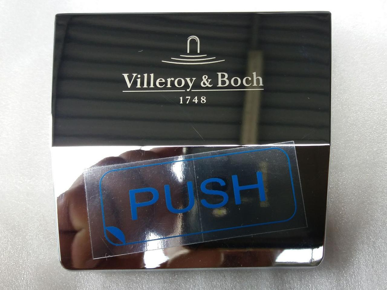 Накладка для ванны Villeroy&Boch Squaro Edge 12 (хром, верхняя)
