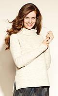 Женский свитер Agna Zaps бежевого цвета, фото 1
