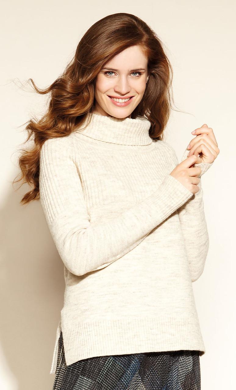 Женский свитер Agna Zaps бежевого цвета
