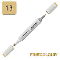 Маркер спиртовой Finecolour Sketchmarker 018 светло-зеленое золото YG18