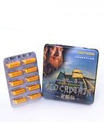 Старый капитан препарат для потенции и продления полового акта (из устриц и морских водорослей, 10 капсул упак