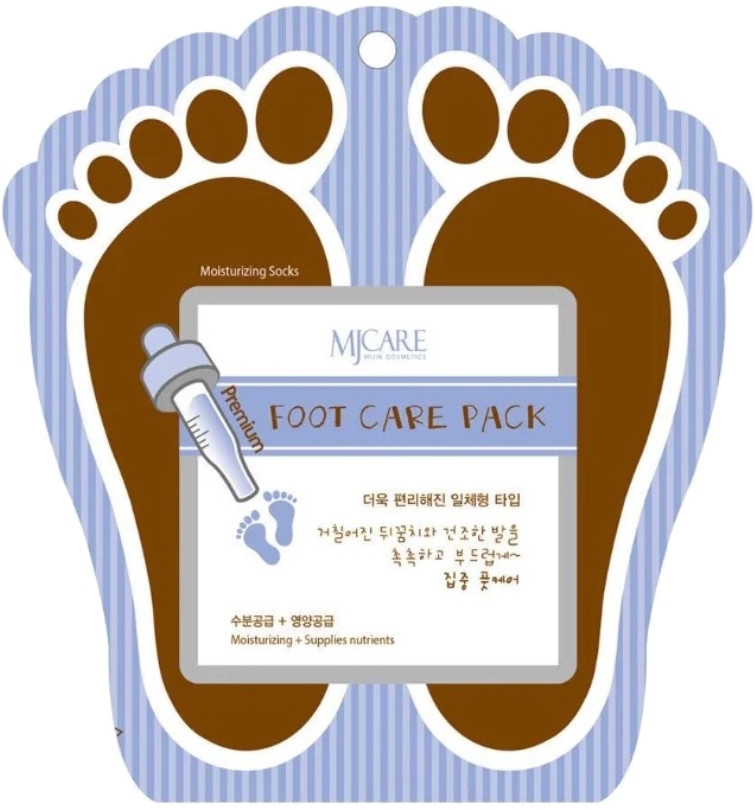 Набор для домашнего ухода за ногами (маска + носочки) Mj Care Premium Foot Care Pack 2 шт, 10 г