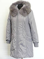 Теплое женское пальто