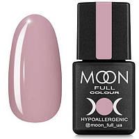 Гель-лак MOON FULL №104 холодный бледно-розовый