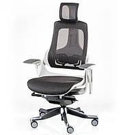 Офисное кресло Special4You WAU CHARCOAL NETWORK WHITE, фото 1