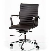 Офисное кресло Special4You Solano 5 artleather black, фото 1