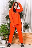 Женский спортивный костюм больших размеров до 64