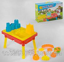 Функциональный столик для игры с песком и водой 929 В