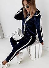 Женский ультрамодный спортивный костюм из  плюшевого бархата