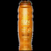 Молочко для загара SPF 30 Займи свое место под солнцем! Без вреда для здоровья! (200мл,Китай)