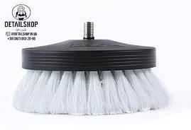 SGCB Pneumatic carpet brush white щітка на дриль для чищення текстилю м'яка