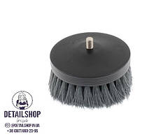 SGCB Pneumatic carpet brush grey - щітка на дриль для чищення текстилю