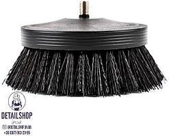 SGCB Pneumatic carpet brush black Щітка для догляду за текстилем, шкірою, килимами