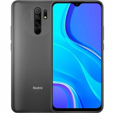 Смартфон XIAOMI Redmi 9 4/64GB Carbon Grey UA, фото 2