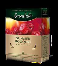 "Чай зелений JASMIN DREAM 2гх100шт. ""Greenfield"" , пакет"