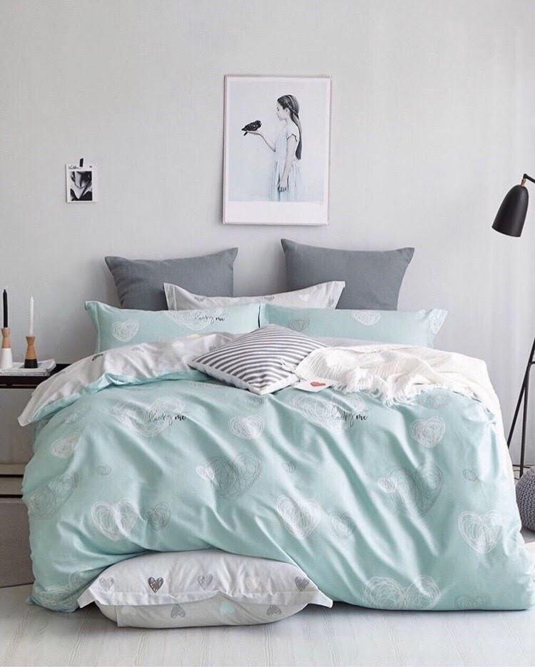 Двухспальный постельный комплект-Краски сна