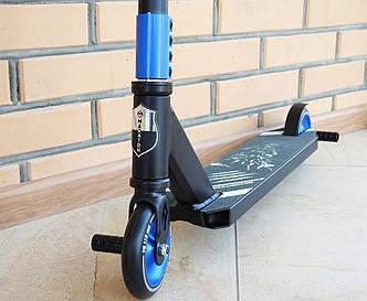 Трюковой самокат Maraton Scorpion 110 HIC с пегами Трюковый для трюков, колеса метал алюминиевые