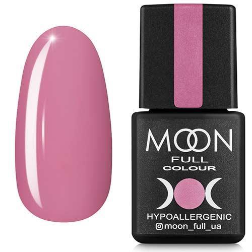 Гель-лак MOON FULL №112 розовый холодный