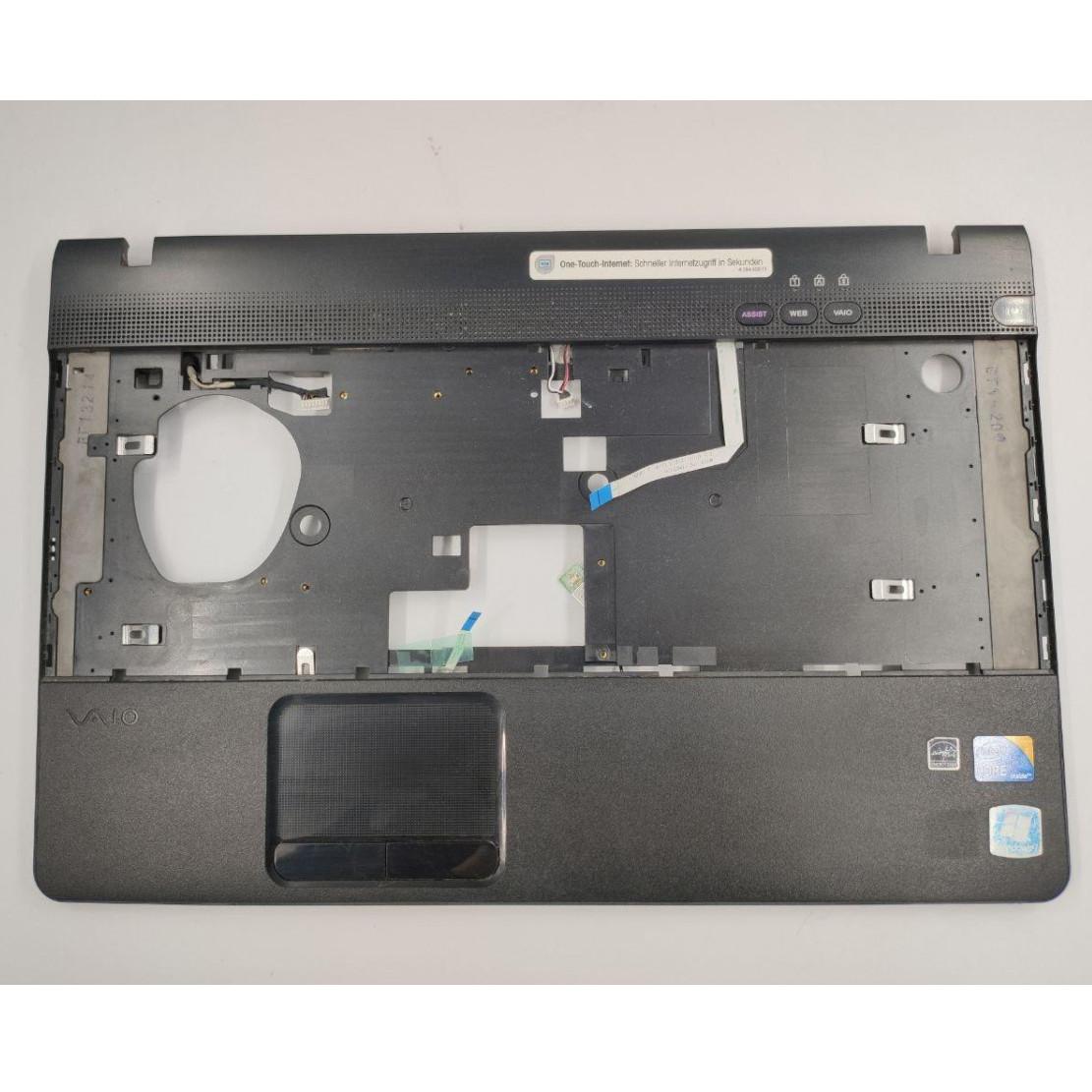 """Середня частина корпуса для ноутбука Sony Vaio VPC-EB series, VPCEB3E4R, PCG-71211V, 15.6"""", 012-521A-3016-B, б/в. В хорошому стані, без пошкодженнь."""