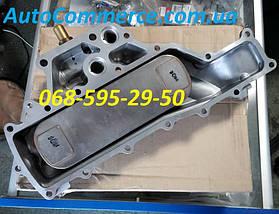 Радиатор масляный (маслоохладитель, теплообменник) Hyundai HD78, HD72 Хюндай HD (2642045006) 3.9L, фото 3