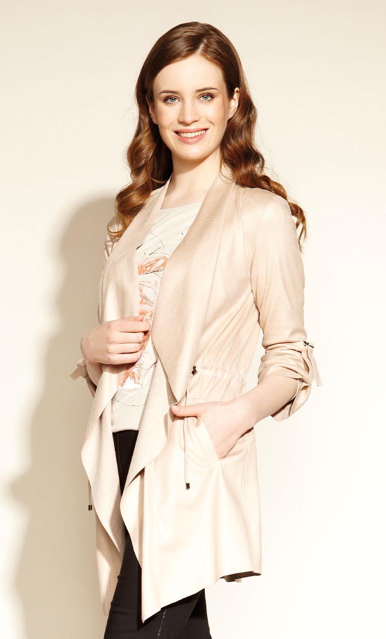 Жакет жіночий Egona Zaps рожевого кольору, колекція осінь-зима