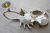 """Подсвечник бронзовый """"Скорпион"""", малый, фото 1"""
