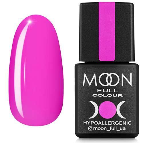 Гель-лак MOON FULL №118 неоново-розовый