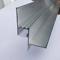 Профиль парящего потолка LED1625 под гипсокартон с рассеивателем