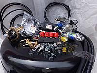 Комплект ГБО 4 поколения Stag 200 GoFast/Tomasetto/форсунки Valtek c баллоном под запаску