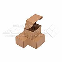 Коробка картонная 17х12х10 (см) 0,5 кг. бурая. Коробки для Новой почты 170 х 120 х 100 мм., фото 1