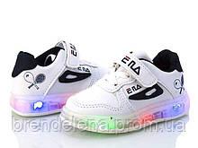 Стильные кроссовки ВВТ для мальчиков р 21-16 (код 5295-00)