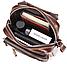 Сумка-барсетка на пояс мужская кожаная Vintage 20012 Коричневая, фото 5