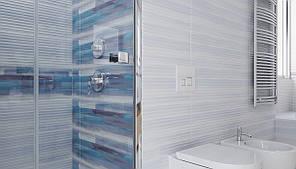 Плитка Opoczno / Stripes Blue Structure  25x75, фото 2