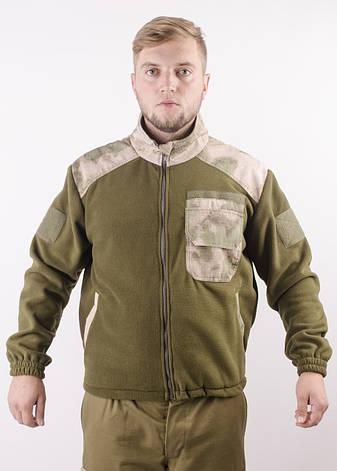 Куртка флисовая вставки A-TAСS FG, фото 2