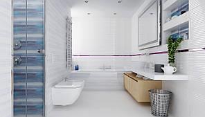 Плитка Opoczno / Stripes White Structure  25x75, фото 2