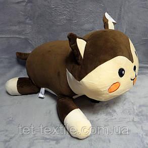 """Плед - мягкая игрушка """"Котик коричневый"""", фото 2"""