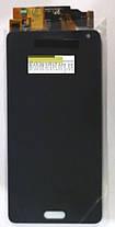 Модуль (сенсор+дисплей) для Samsung A500F, A500FU, A500H, A500M Galaxy A5 (OLED) чорний, фото 3