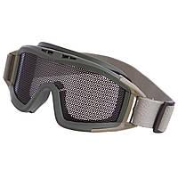 Защитные очки для военных игр пейнтбола и страйкбола TY-5549 цвета в ассортименте