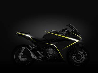 Обновленная версия спортбайка средней кубатуры  - Honda CBR500R