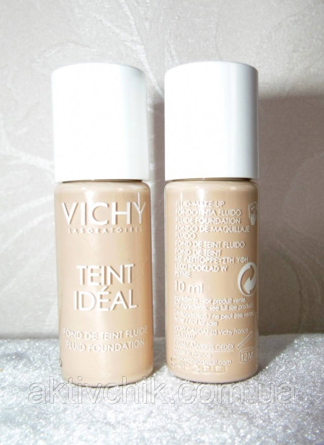 Тональный флюид для лица Vichy Teint Ideal  10 мл, тон 35 - розово-песочный
