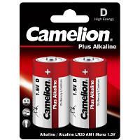 Батарейка Camelion D LR20/2BL Plus Alkaline (LR20-BP2)
